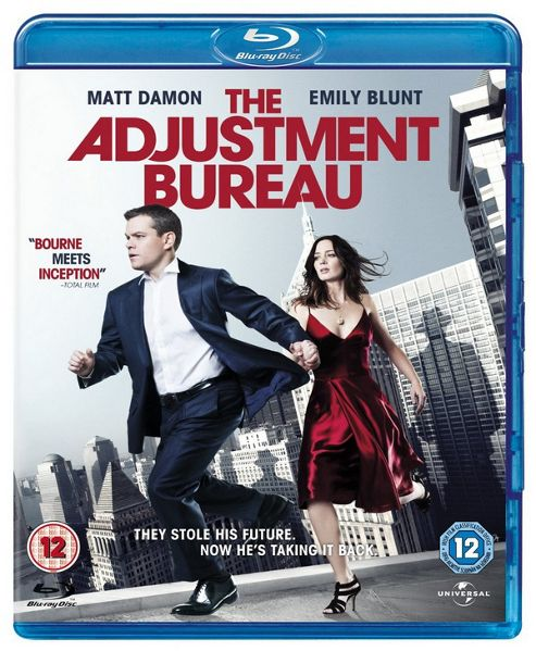The Adjustment Bureau Blu-Ray