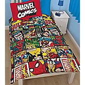 Marvel Comics, Avengers Bedding. Single Duvet