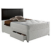 Silentnight Miracoil Comfort Ortho Tufted 4 Drawer Super King Divan