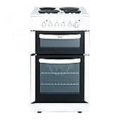 FSE50TCWHI 500mm Electric Oven with Separate Grill & 4 Sealed Plate Hobs in White