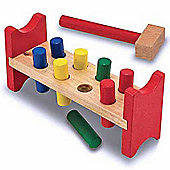 Melissa And Doug Pound-a-Peg Classic Toy