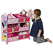 Minnie Mouse 6 Bin Storage
