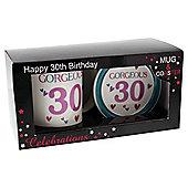 Age 30 Mug and Coaster