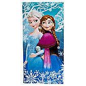 Disney Frozen Anna and Elsa Beach Towel