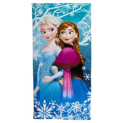 Disney Frozen Anna and Elsa Beach Towel