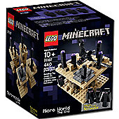Lego Minecraft The End Cuusoo Micro World 21107 Box Set