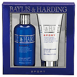 Baylis & Harding Men's Citrus Lime & Mint 2 Piece Set