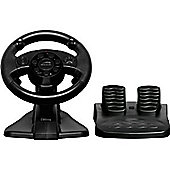 """SPEEDLINK Darkfire Racing Wheel for PC/Sony PS3 with Force Vibration, Black (SL-4484-BK)"""