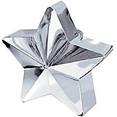 Balloon Weights Silver Star (each)