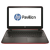 HP Pavilion 15-p038na Beats Audio 156 Laptop, AMD A8, 8GB Memory, 1TB Storage, R7-M260 2GB Graphics - Red