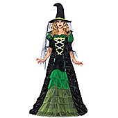 Storybook Witch - Adult Costume Size: 10-12