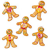 Mini Gingerbread Men for Children to Play with and Collect (Pack of 8)