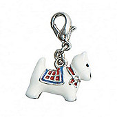 Scottie Dog 3D Clip on Charm