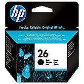 HP 26 Large Inkjet Print Cartridge - Black