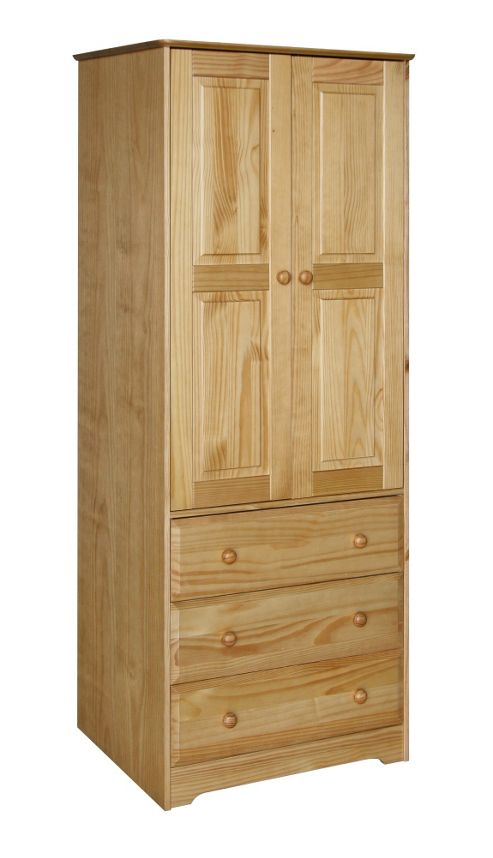 Home Essence Berwick 2 Door and 3 Drawer Wardrobe