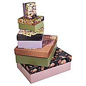 Tea Time Box 20x20x11