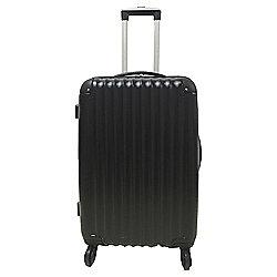Tesco 4-Wheel Medium Black Suitcase