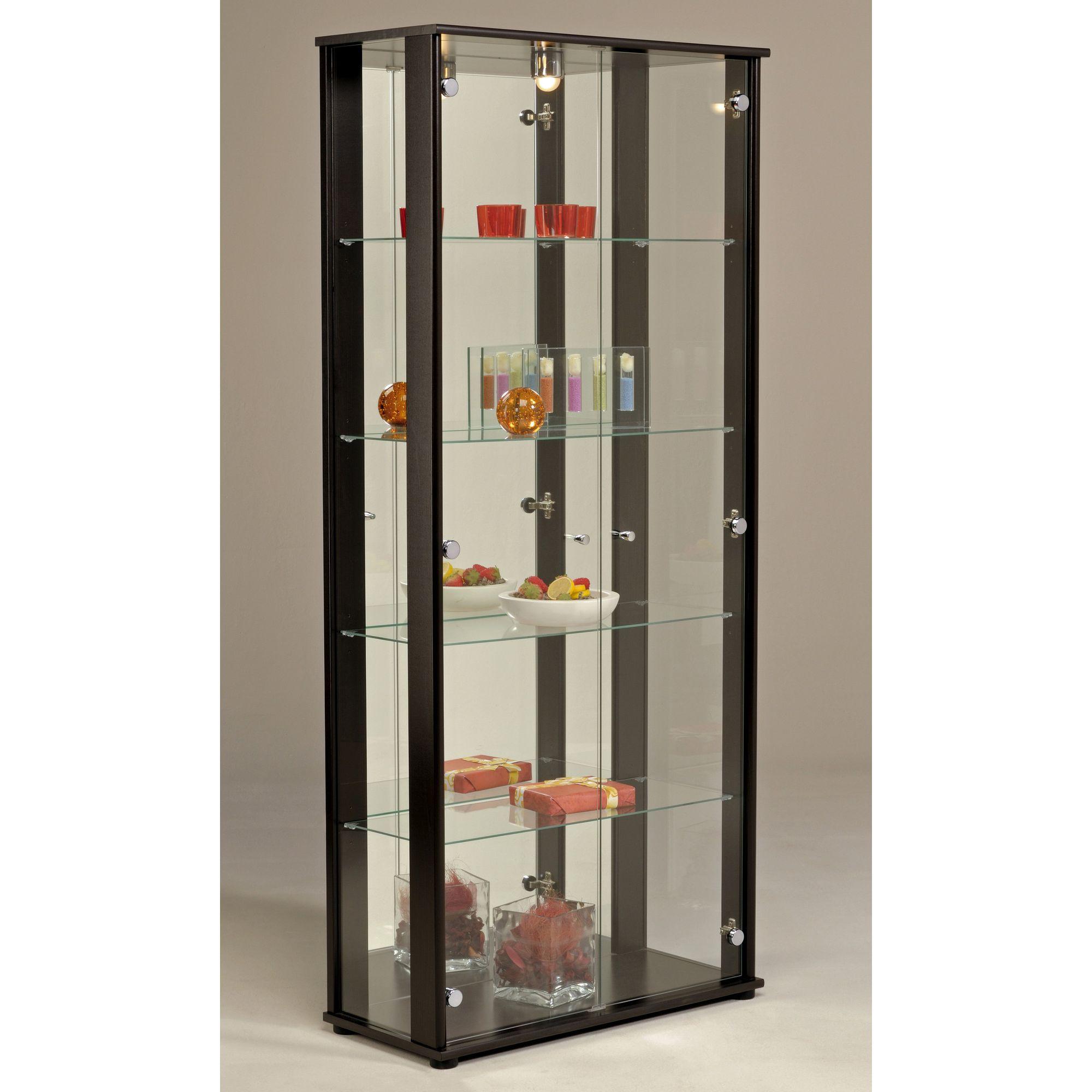 Parisot Oscar Display Cabinet - Wenge at Tescos Direct
