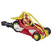 Marvel Ultimate Spider-Man Web Warriors Blast N' Go Iron Spider Racer