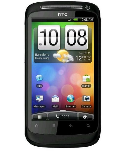 HTC Desire S Android Mobile Phone with HTC Sense 3.7 inch WVGA Touch Screen Display