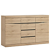 Summer 2 Door 3+3 Drawer Sideboard