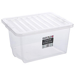 Tesco 35L storage box with Lid