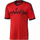 2014-15 Mexico Away World Cup Football Shirt - Orange