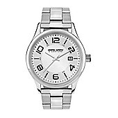 Jorg Gray Men's Watch JGS2570B Steel Strap Silver Dial