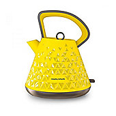 Morphy Richards 108108 Prism, Cordless Kettle, with 1.5L Capacity, in Yellow