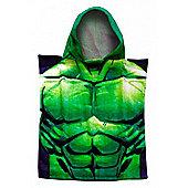 Hulk Hooded Poncho Towel