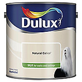 Dulux Silk Emulsion Paint, Natural Calico, 2.5L