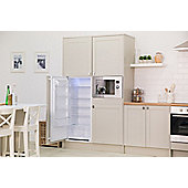 Russell Hobbs RHBI55LF122, Built-In Larder Fridge, 55cm Wide, 122cm High, White