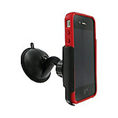Kit Anywhere Multisurface Suction Holder for Universal Smartphone Devices - Black