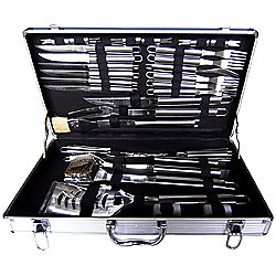 Bentley BBQ 32 Piece Utensil Set in Case