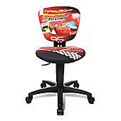 Topstar Kids and Youth Swivel Chair with Fabric Cover - Disney Cars