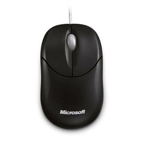 Microsoft 500 Mouse - Optical - Wired - 3 Button(s) - USB - 800 dpi - Scroll Wheel - Symmetrical