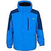 Trespass Mens Maker 3in1 Jacket - Blue