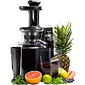Andrew James Professional Masticating Slow Juicer in Black