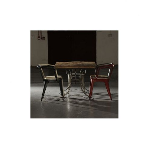 Oceans Apart Industrial Living Rectangular Table