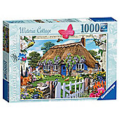 Ravensburger Country Collection, Wisteria Cottage 1000-Piece Jigsaw Puzzle