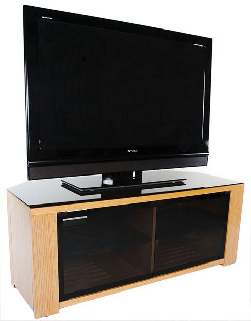Optimum Natural Oak Edge 1150 TV Cabinet