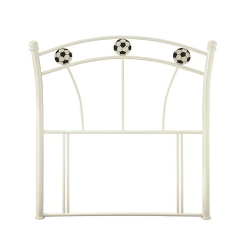 Serene Furnishings Soccer Single Headboard - White