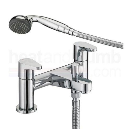 Bristan Quest Bath Shower Mixer Tap Chrome Plated