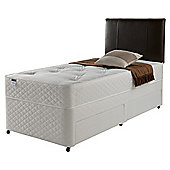 Silentnight Miracoil Comfort Ortho Tufted Non Storage Single Divan