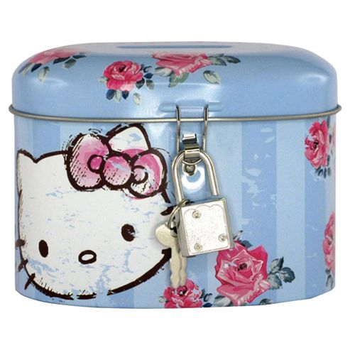 Hello Kitty Money Tin