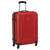 """Ellehammer 26"""" Hardshell Spinner Suitcase, Red"""