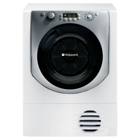 Hotpoint AQ113DA697E Washing Machine, 11kg Load, 1600 RPM Spin, A+++ Energy Rating, White