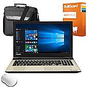 """Toshiba L50-C-1XN 15.6"""" Laptop Intel Core i3 5005U 12GB RAM 1TB HDD Windows 10"""