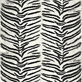 Tiger Print Wallpaper - White Muriva J94509