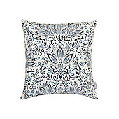 Living By Christiane Lemieux Blue Cushion In Baby blue